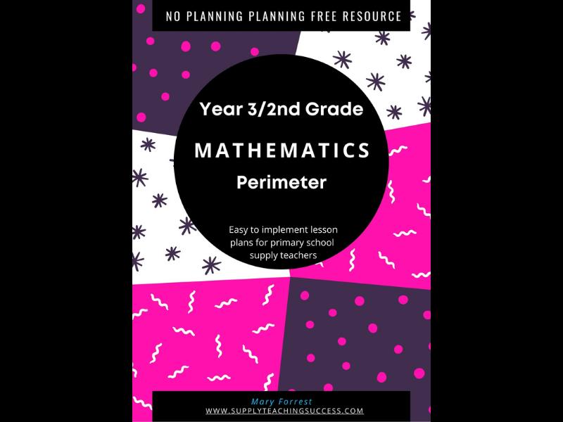 Supply Teaching Lesson Plan Year 3 Maths
