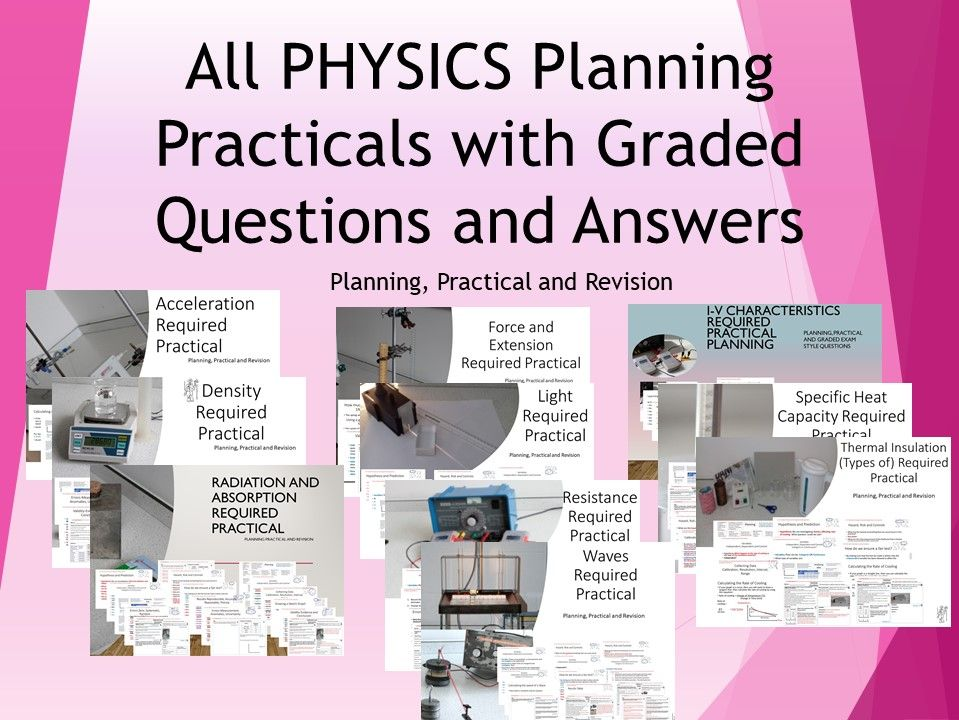 All Physics Required Practical Lessons