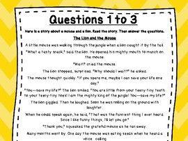 3rd Grade Language Arts Test Prep Set 10