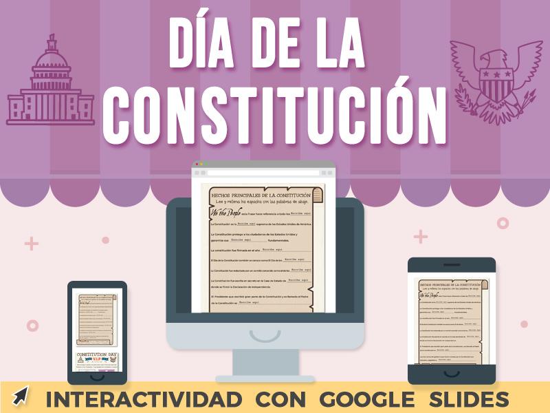 Día de La Constitución - Google Slides