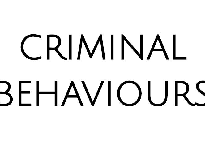 WJEC A LEVEL PSYCHOLOGY Criminal Behaviours