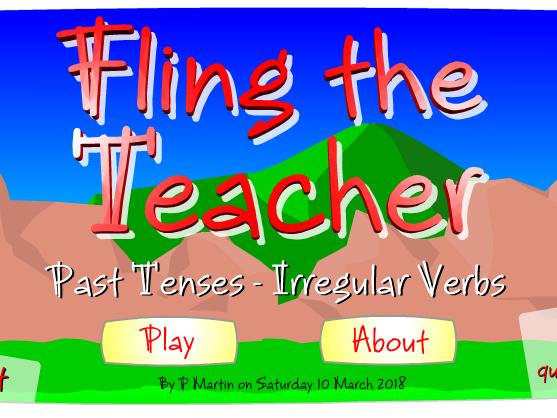 Fun game for testing English Past Tenses of Irregular Verbs.