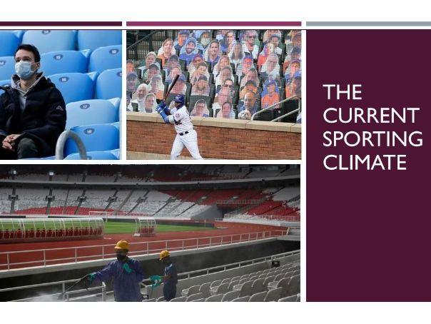 A Level Sport & Society: Covid-19 case studies