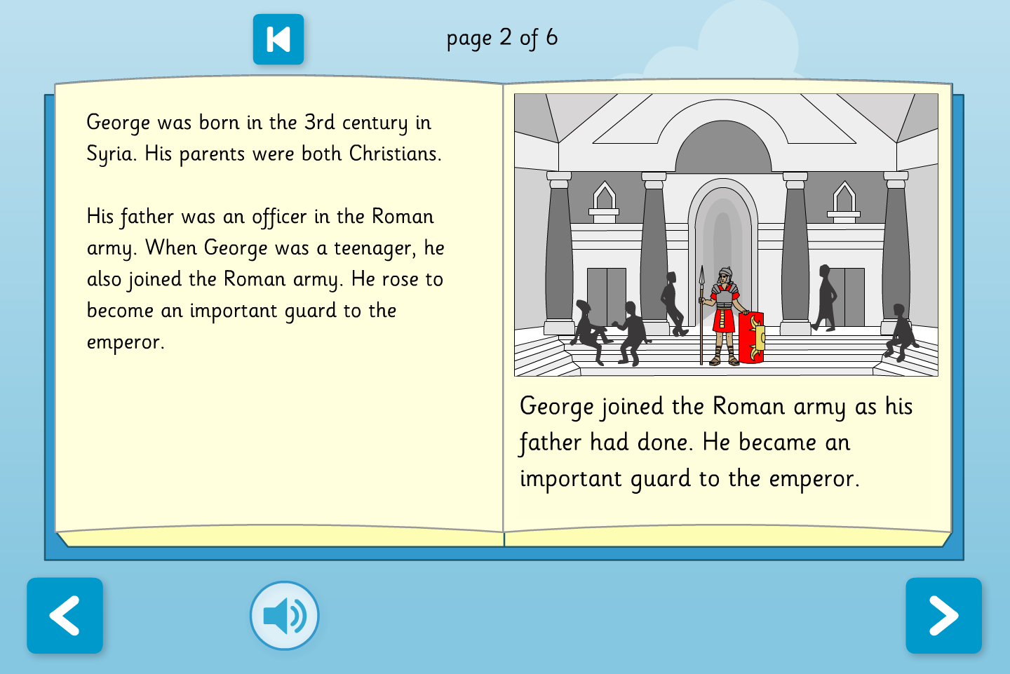 St George Interactive Information Book - Early Reader Level - St George's Day KS1