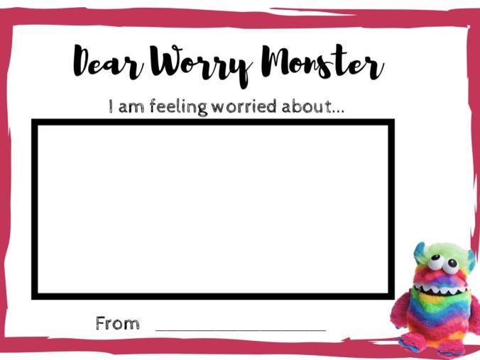 Dear Worry Monster (Draw)