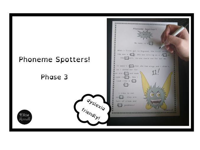 Phonics - Phase 3 - Alien Phoneme Spotter Stories