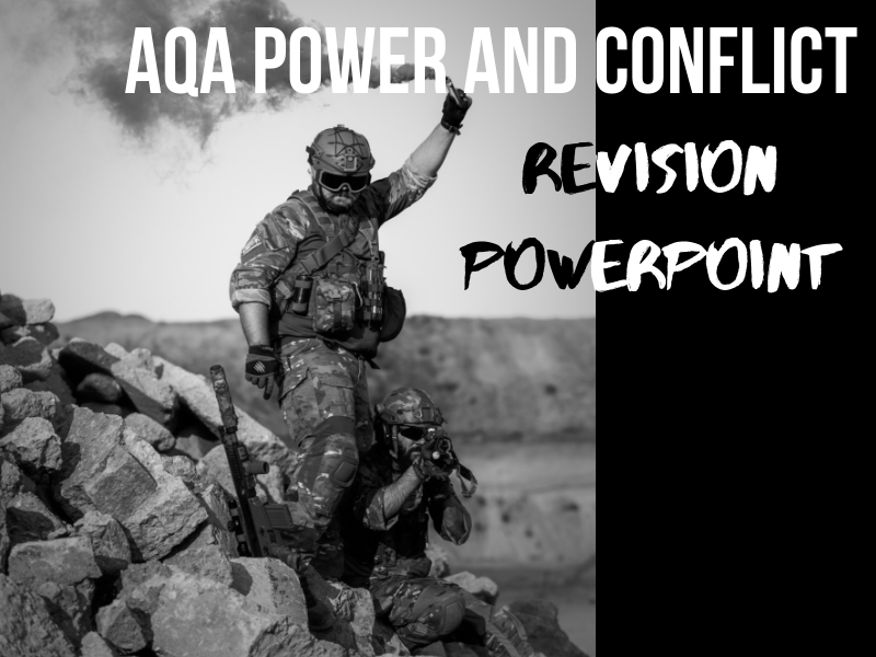 AQA Power and Conflict Poetry Revision Slides