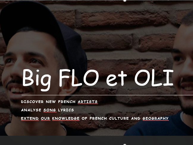Big Flo et Oli - Bienvenue chez moi - French AS/A level
