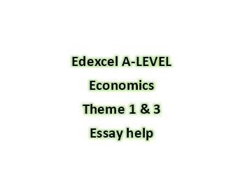 Edexcel A-Level Economics: Essay structures monopoly +market failure