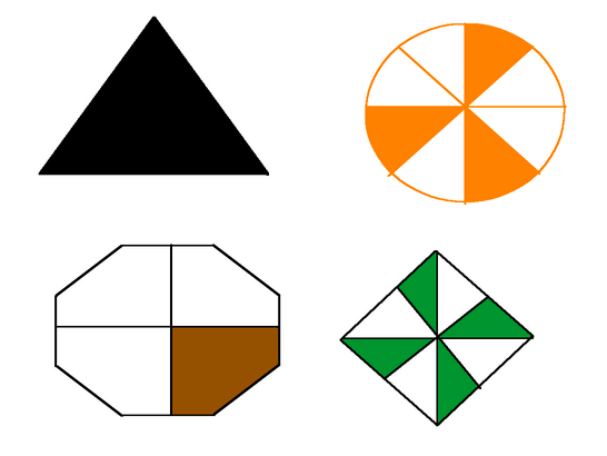 Fractions Of Shapes By Paul Jelley Teaching Resources