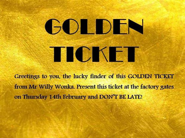 Willy Wonka's Golden Ticket