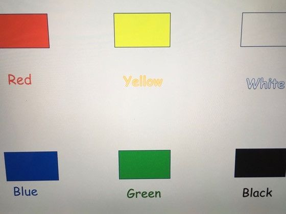 Learn colours by word and sight- SEN, Early Years, Primary