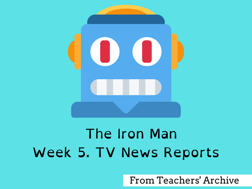 The Iron Man. TV News Reports