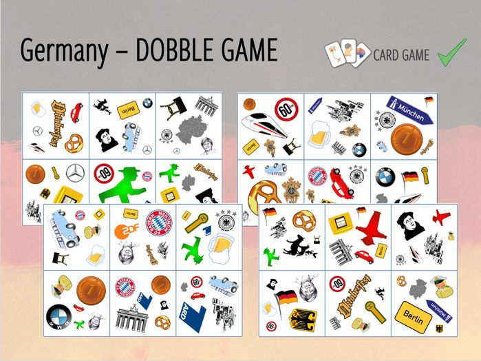 Germany - DOBBLE Game