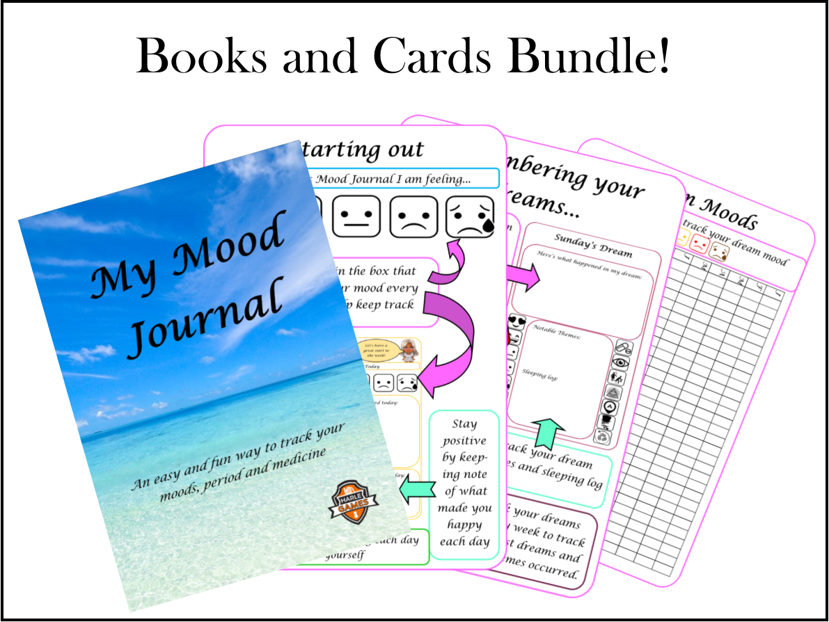 Books and Cards Bundle