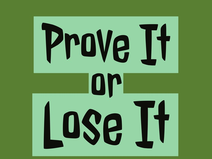 Reading With Purpose: Prove It or Lose It