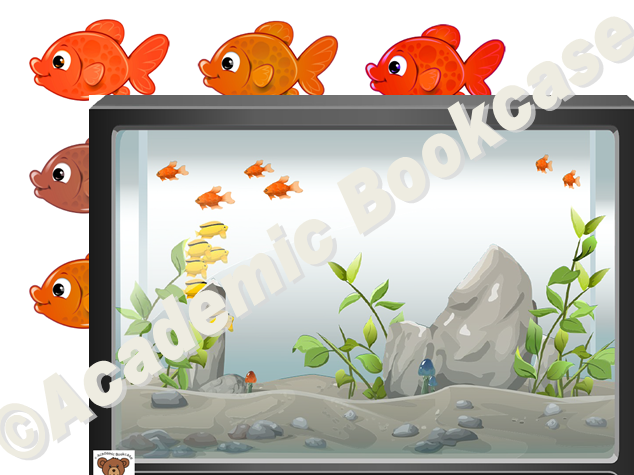 Reward counting chart - fish tank and fish