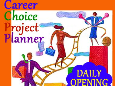 Career Choice Project Planner: Daily Opening Task in an EDITABLE + PDF PowerPoint!