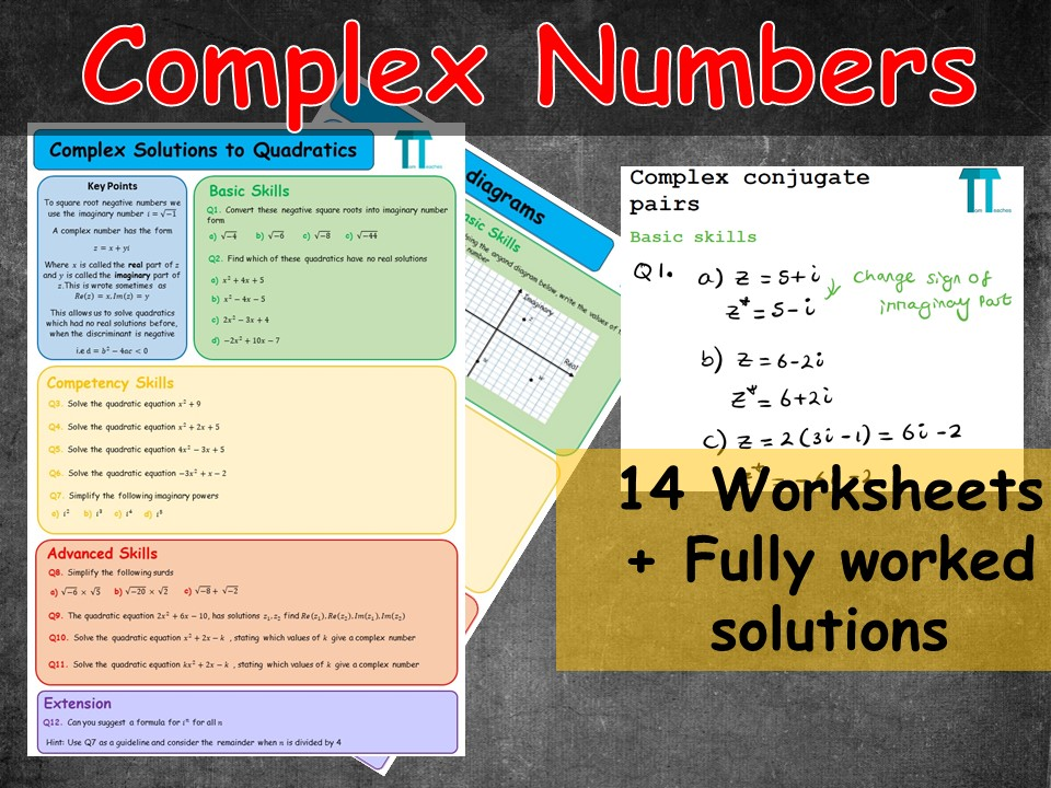 Complex Numbers for Further Maths A-Level