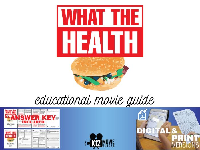 What the Health Documentary Movie Guide | Questions | Worksheet (2017)