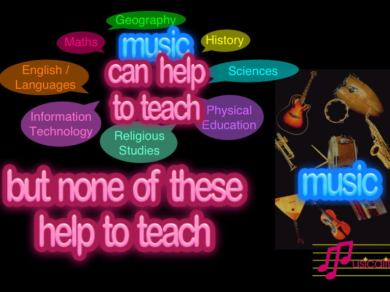 None of these help to teach music