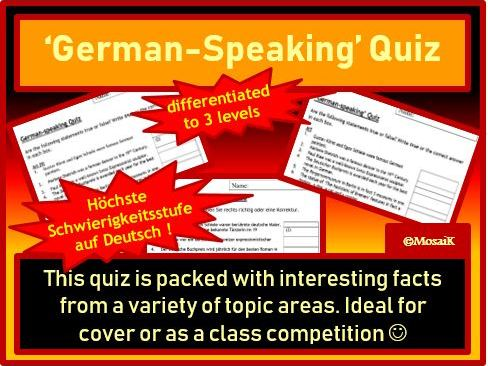 Quiz German speaking countries D A CH FL