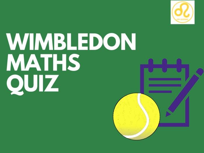 Wimbledon Maths Quiz