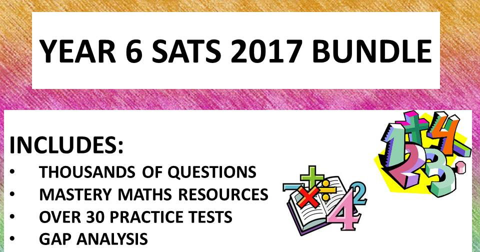 BIGGEST MATHS YEAR 6 SATS PACK ON TES!