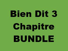 Bien Dit 3 Chapitre 1 Bundle