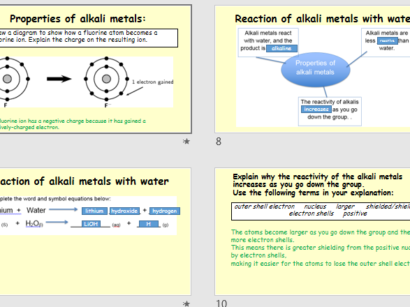 AQA Science Trilogy- Chemistry Unit C2 Revision lesson- Periodic Table