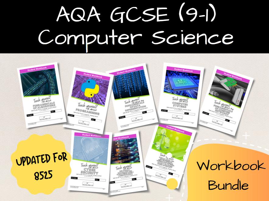 All AQA 8525 Workbooks BUNDLE