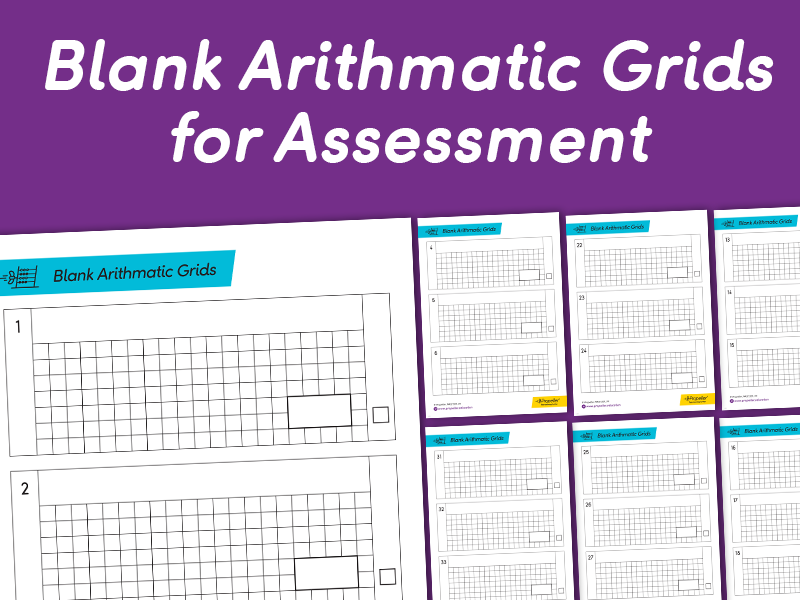 Blank Arithmetic Test Grids | KS2 SATS AND ASSESSMENT ARITHMETIC PRACTICE