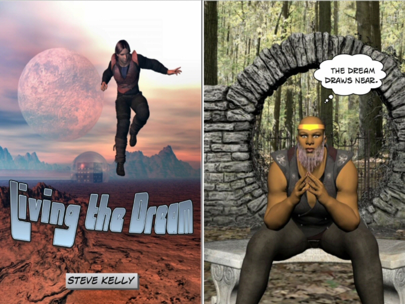 Comparative Text - Stages 5 and 6 English - Living the Dream - Sci-Fi Comic and Short Story
