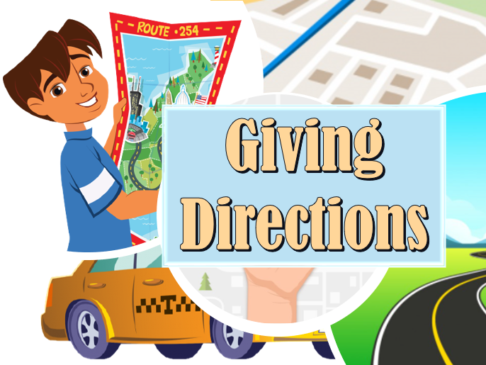 Giving Directions. Interactive PowerPoint Lesson for A2 Level Students