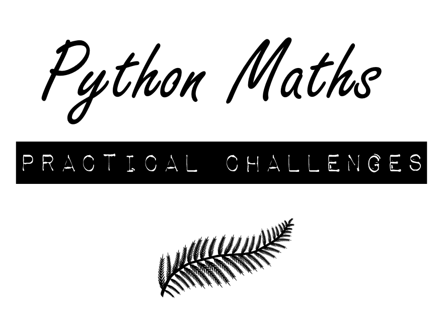 Python Mathematical Operators Practical Challenges