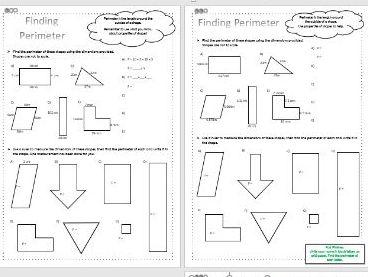 Perimeter - Maths - KS2 - Differentiated