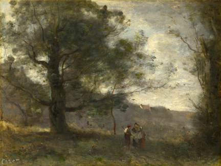 Camille Corot,his artist quotes on French landscape painting - for students, art teachers, pupils