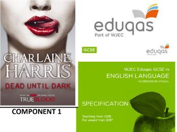 EDUQAS style C1 Language paper Dead Until Dark