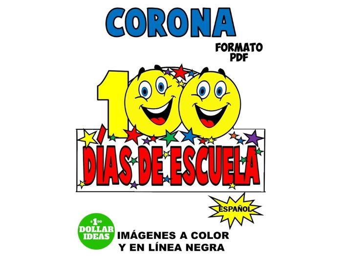 100 DÍAS DE ESCUELA | ACTIVIDADES | CORONA
