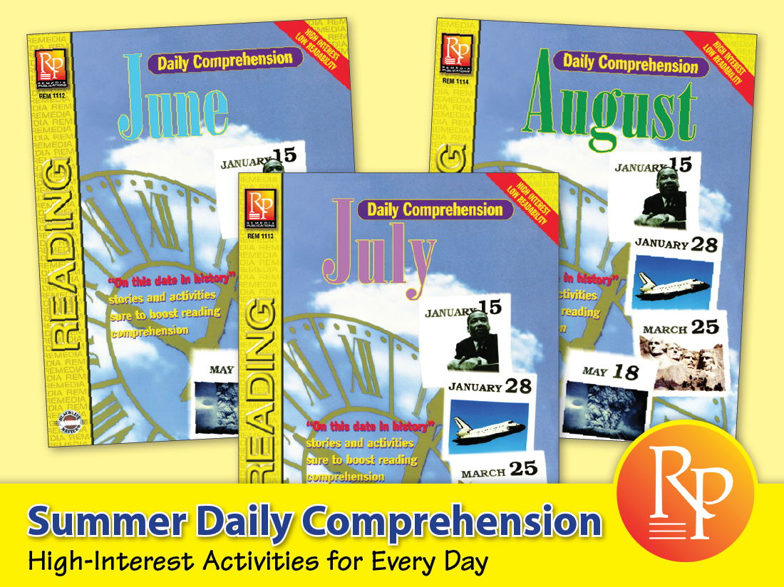 Summer: Daily Comprehension {Bundle}