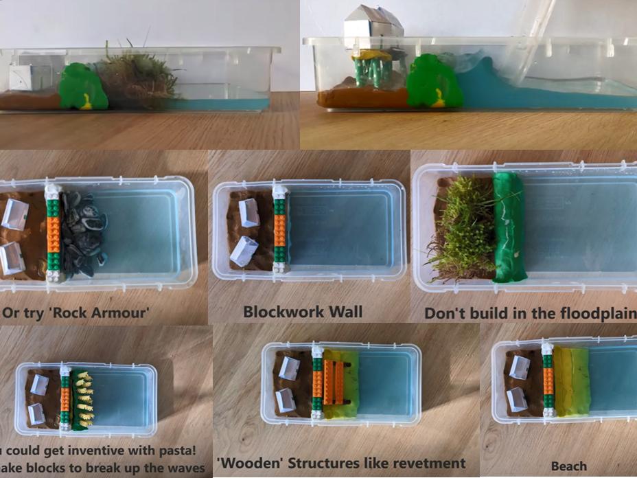 Coastineers Sea Level Rise Challenge - Build Your Own!