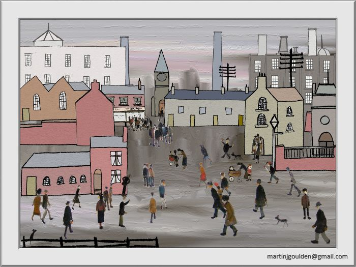 Create\Make Your Own Lowry Painting Digitally - KS2