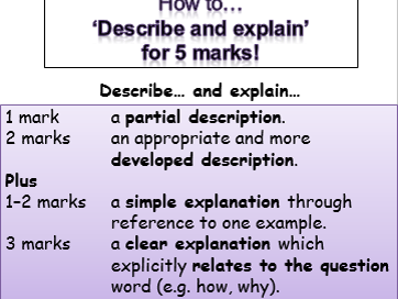 GCSE Sociology model answers, markschemes, exam Qs