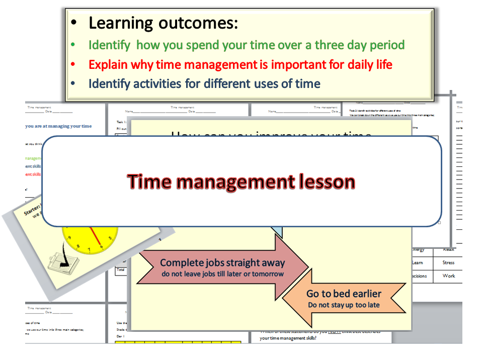 Time management - complete lesson