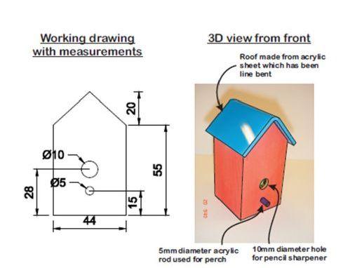 Birdbox Pencil Sharpener Project Booklet