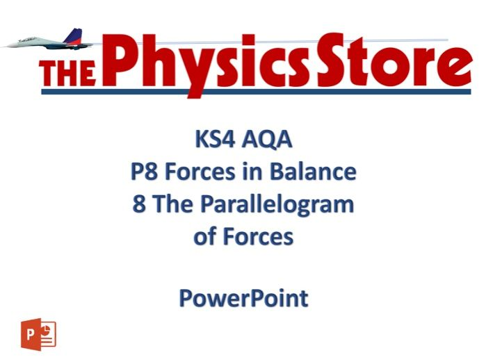 KS4 GCSE Physics AQA P8 8 The Parallelogram of Forces