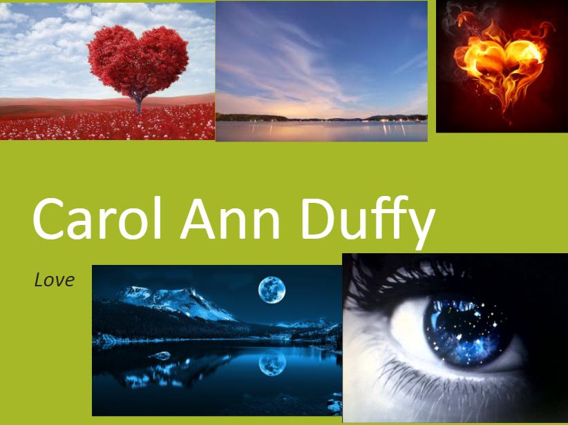 Carol Ann Duffy - 'Love' analysis