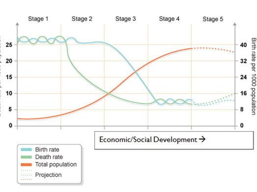 The Demographic Transition Model (DTM)