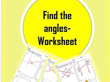 Find the angles Worksheet