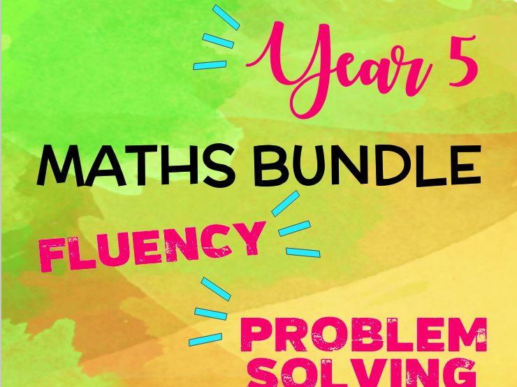 Year 5 Maths BUNDLE